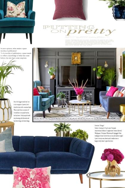 Home Decor: Jewel Tones