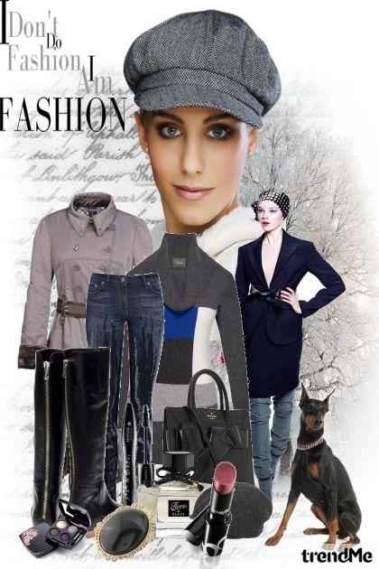 My urban winter fashion look!