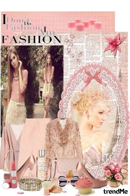 Romantic pinky elegance