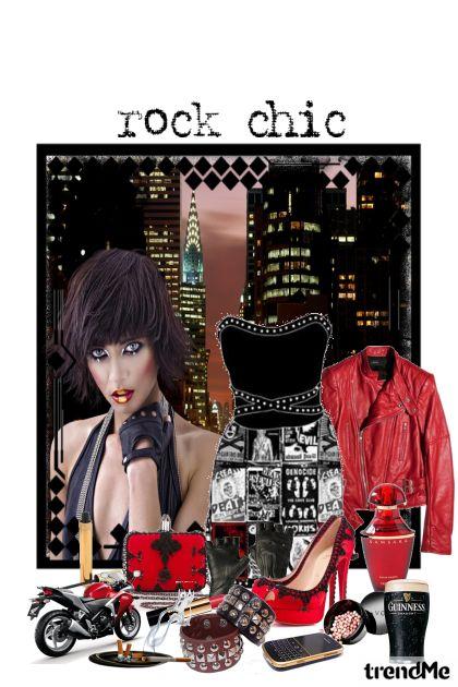Rock glamour