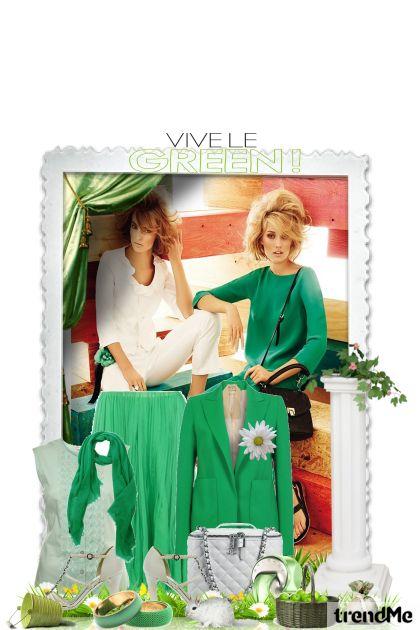 I like green...- Fashion set