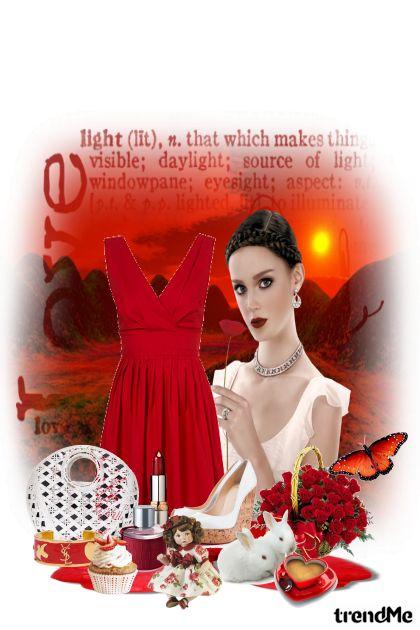 Crvena haljina za ljeto