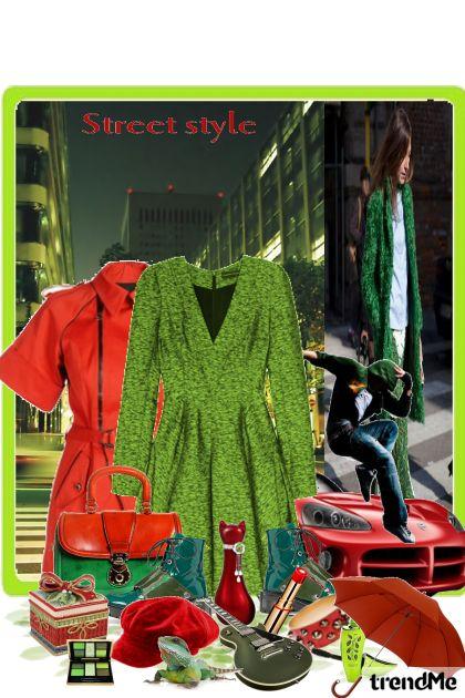 Funky street style