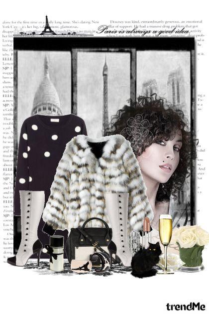 Paris chic feminine style