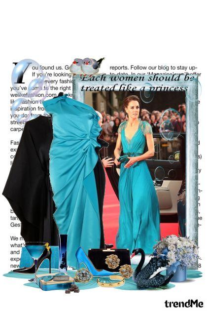 Haljina dostojna princeze