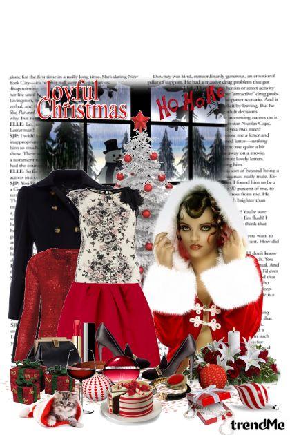 Joyful Christmas- Modna kombinacija
