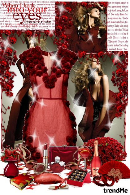 Romantic in red...