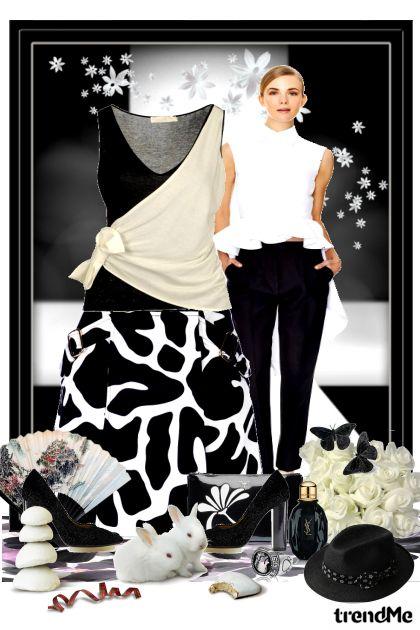 Crno bijela elegancija