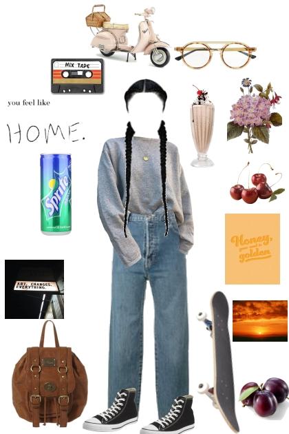 lets go old school- Fashion set