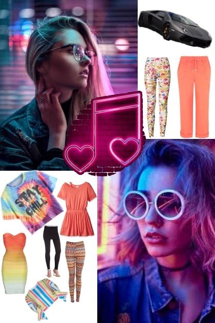 Color pop- Fashion set