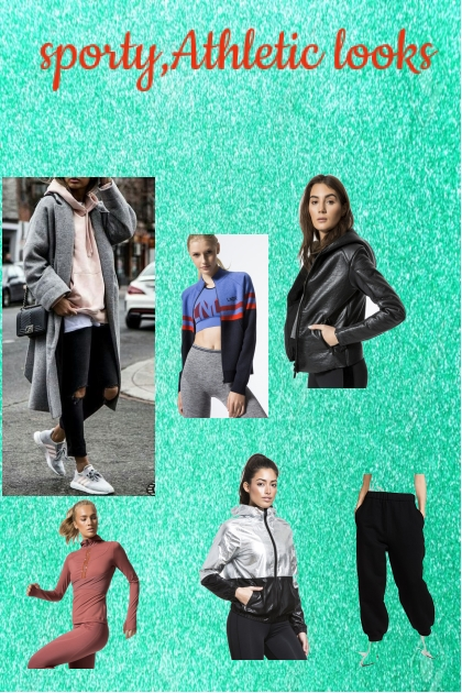 sporty, Athletic style 2