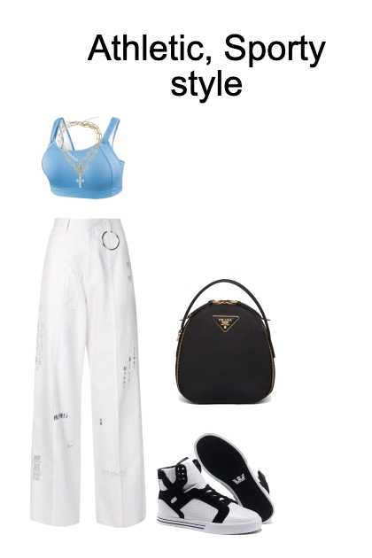 athletic/ sporty style