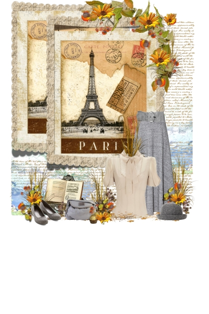 vintage fall Paris