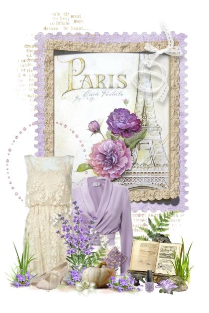 Paris Lavender & Beige