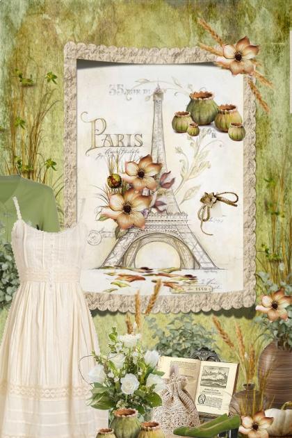sage & cream Paris Dream