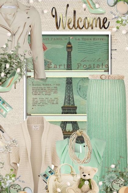 Mint & Beige Paris