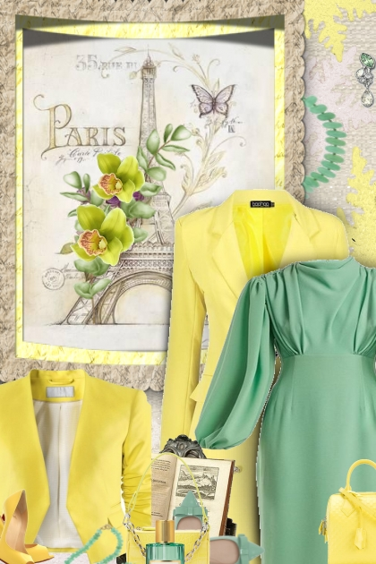 Mint & yellow