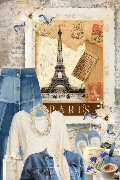 Denim Beige Paris