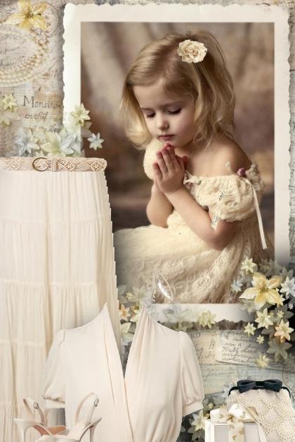 Beige Wedding Attendee