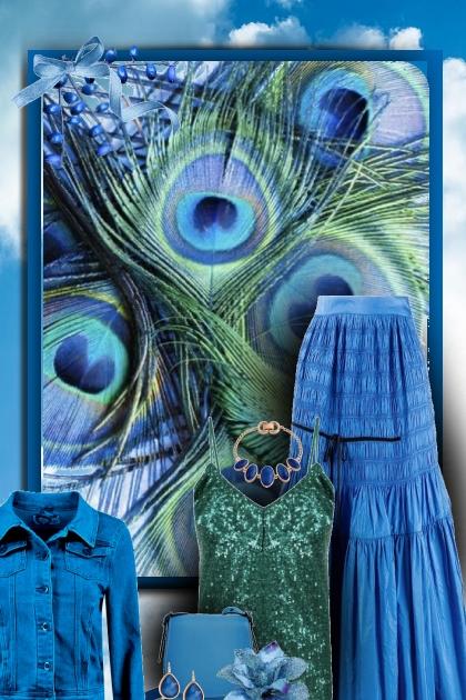 teal &  peacock 2- Combinaciónde moda