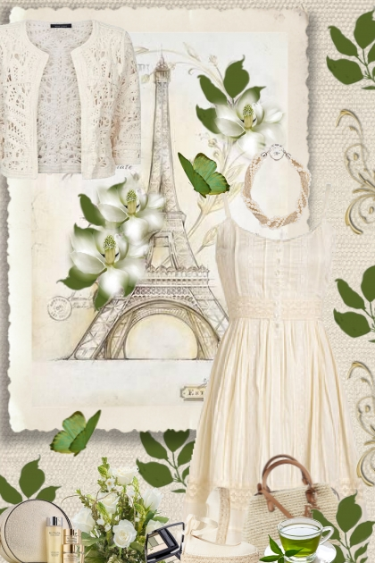 vintage Paris, beige