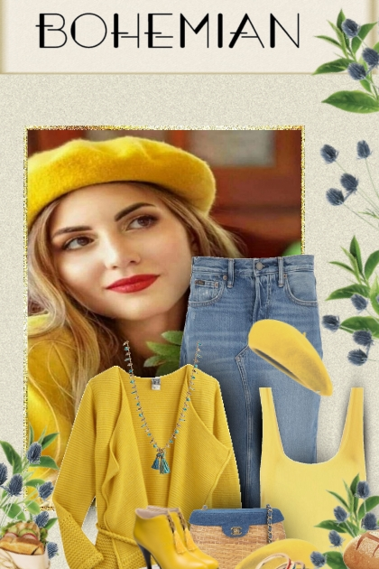 yellow bohemian