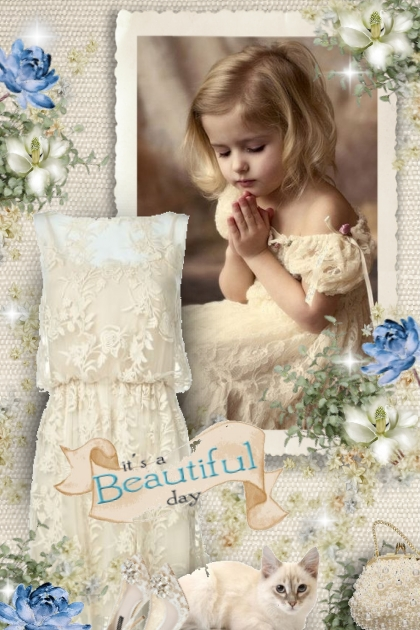 Beautiful day - flowergirl