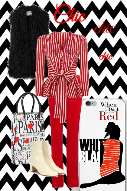 Chic Red