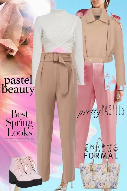 Pastel Style- Modna kombinacija
