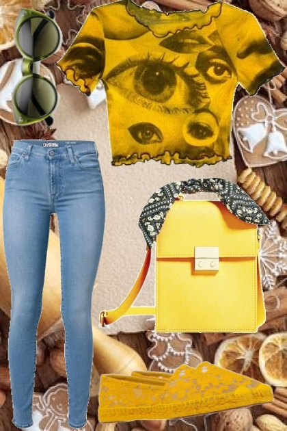 Yellow and Jeans