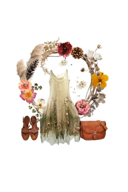 Dry flowers- Модное сочетание