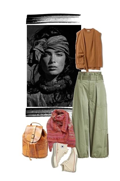 Boho Casual- Fashion set