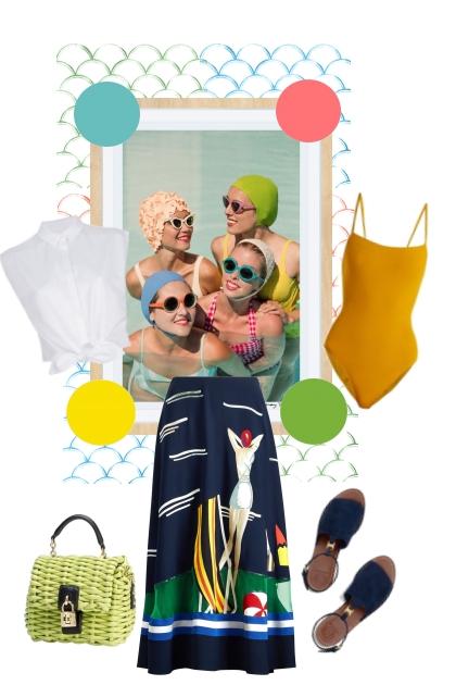 Party pool- combinação de moda