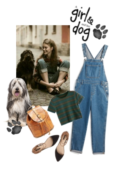 Girl and dog!