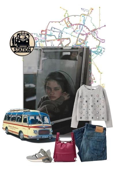 Bus Station- combinação de moda