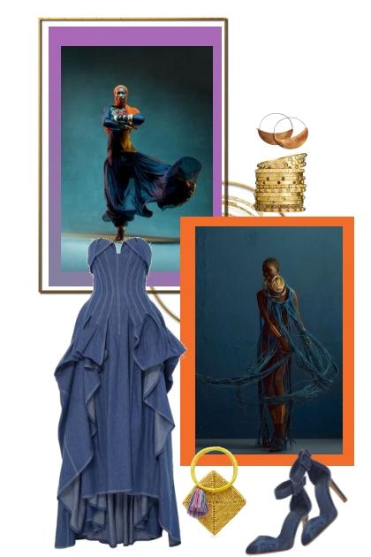 In  blue- Combinazione di moda