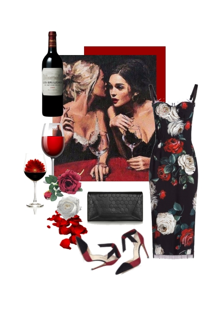 Vino, rosas , confidencias