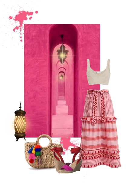 El pasillo rosa