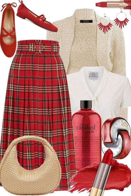 Red Plaid Day
