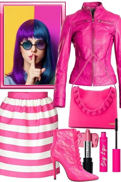 So Pink- Modekombination