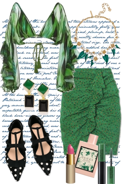 Green Sleeves and Lipstick