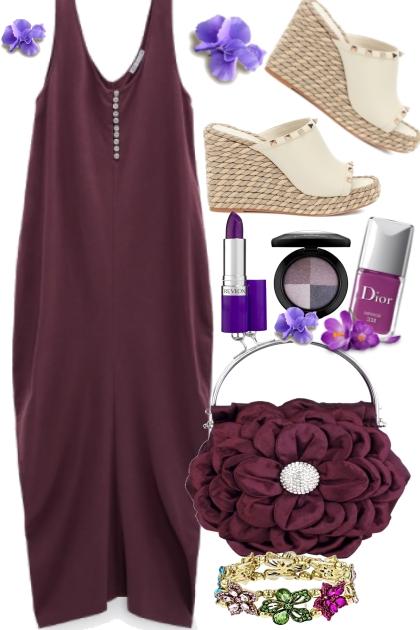 Comfort in Purple