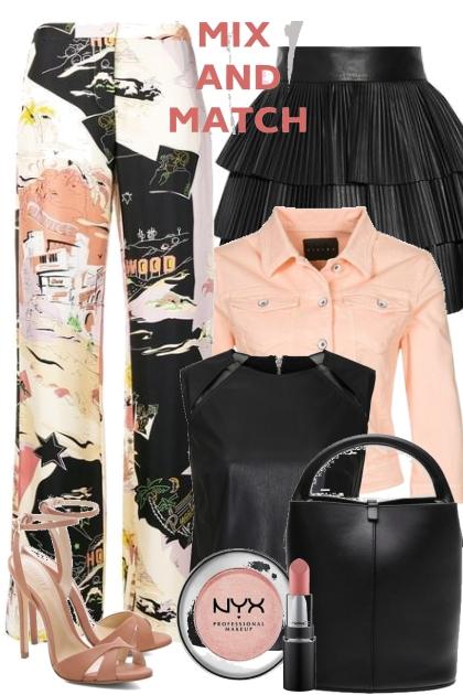 Black & Peach