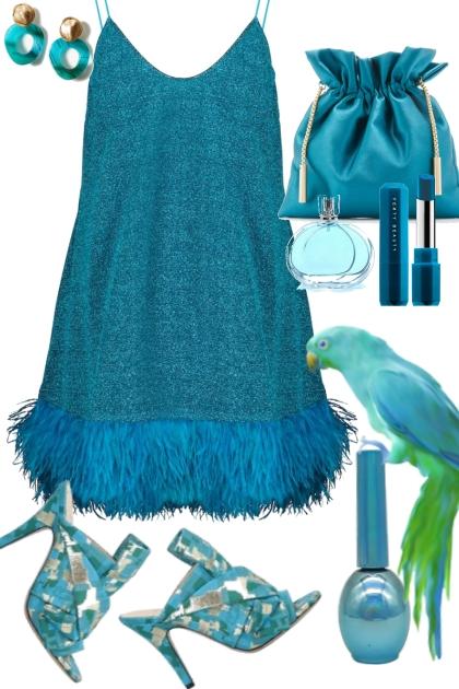 Teal Parrot