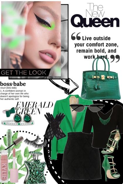 The New Queen- Combinazione di moda
