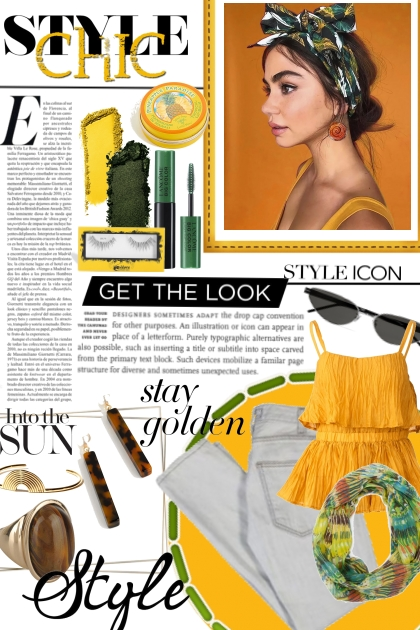 Yellow and Green look