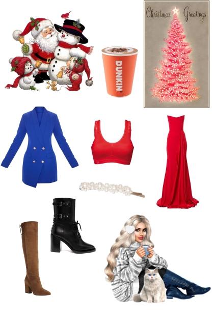 Christmas time- Combinazione di moda