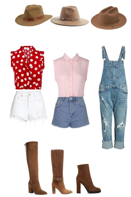 Country girl concept