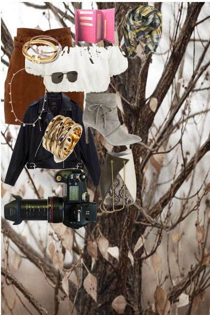 pretty fall camera outfit