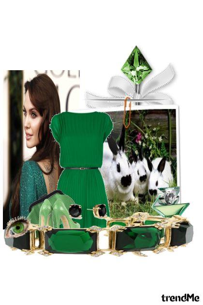 green jolie
